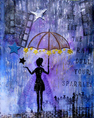 Rain Art Journal ~ FotoBella DT