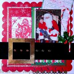 Santa ~ Red Rubber Designs DT
