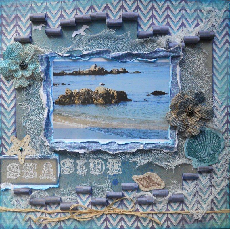 Seaside ~ BOAF July Kit Reveal