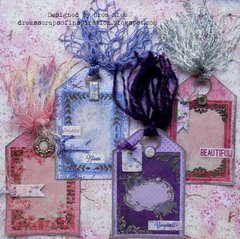 Secret Garden Shaker Tags ~ FotoBella DT