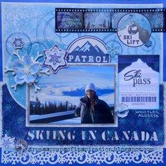 Skiing In Canada ~ FotoBella DT
