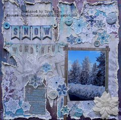 Snow Wonderful ~ FotoBella DT