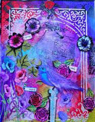 Spring Art Journal ~ FotoBella DT