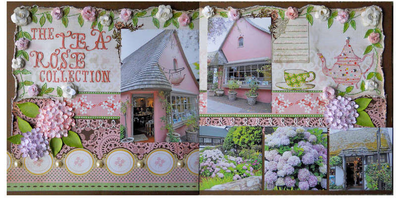 The Tea Rose collection
