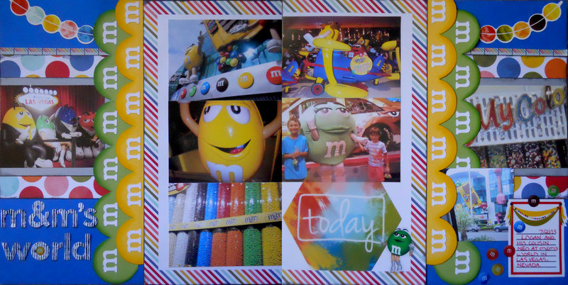 m&m's world ~ August BOAF Kit Reveal