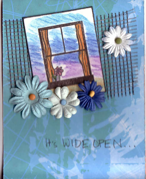 It's Wide Open Card