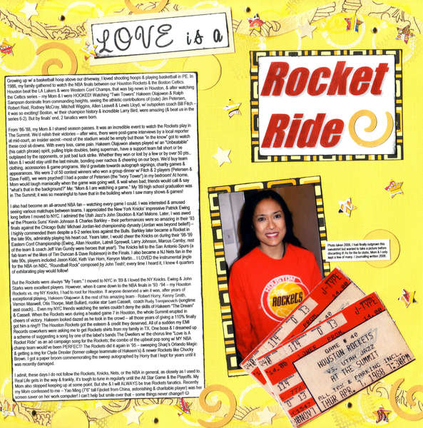 "Love is a Rocket Ride (SHCG ""Fabby Fanatics"" & ""Go Monochromatic"" Challenges)"