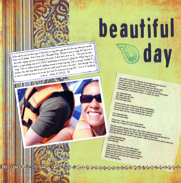 "Beautiful Day - SHCG ""Your Theme Song"" Challenge"