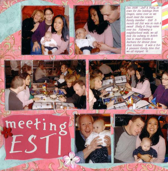 Meeting Esti