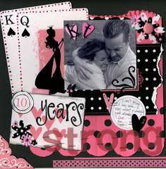 10 Years Strong ** Queen & Co. DT Layout**