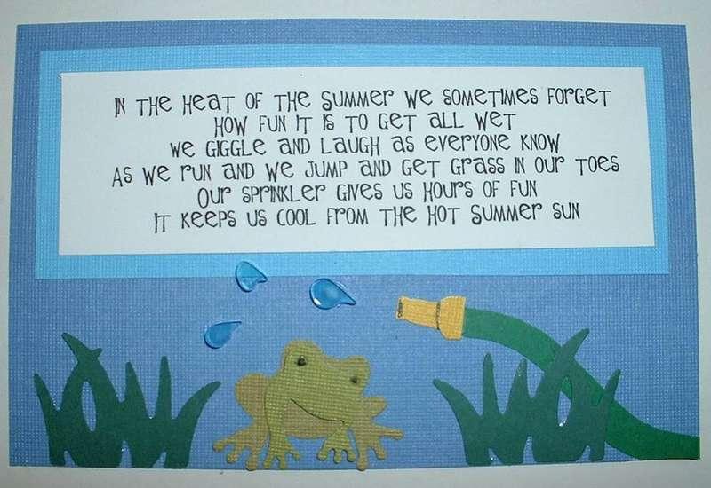 Backyard Fun Poem