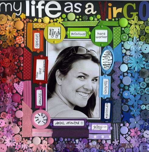 My Life AS a Virgo *Memory Makers Mag*