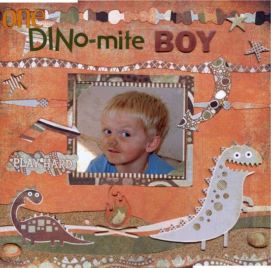 One Dino-Mite Kid