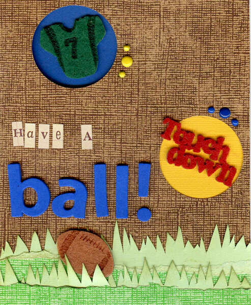 Have A Ball!  card **Queen & Co. 2009**