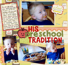 His Preschool Tradition