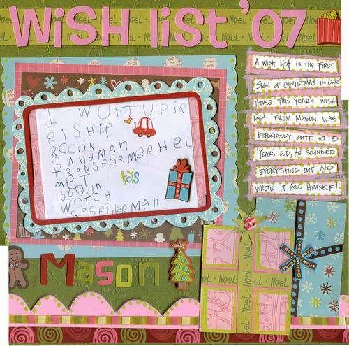Wish List '07