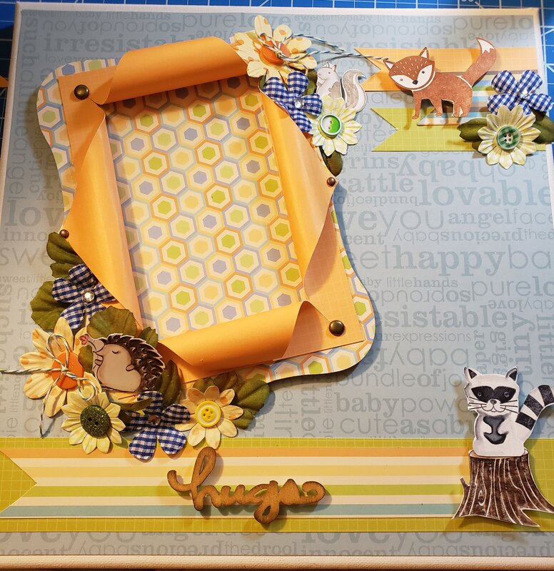 Woodlands Friends Welcome Baby Photo Frame