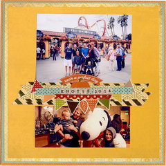 Knotts Berry Farm - 2014
