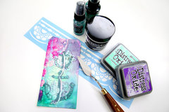 Fun Mixed Media Project: Mermaid Tags/Bookmarks