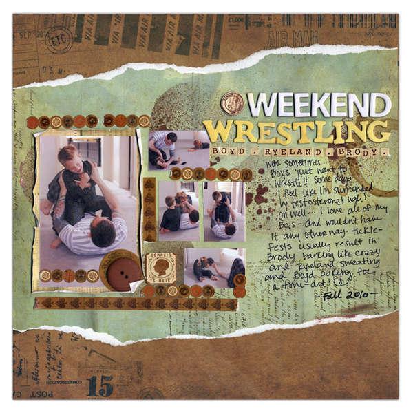 Weekend Wrestling!