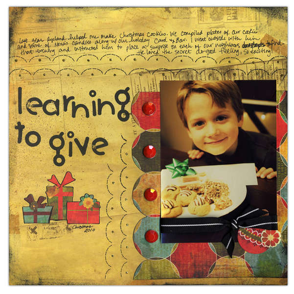 Learning to Give