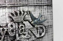 Ryeland 'Steampunk' Plaque (close up)