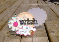 make a wish clear card