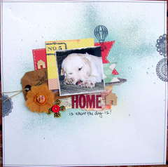 home is where the dog is!