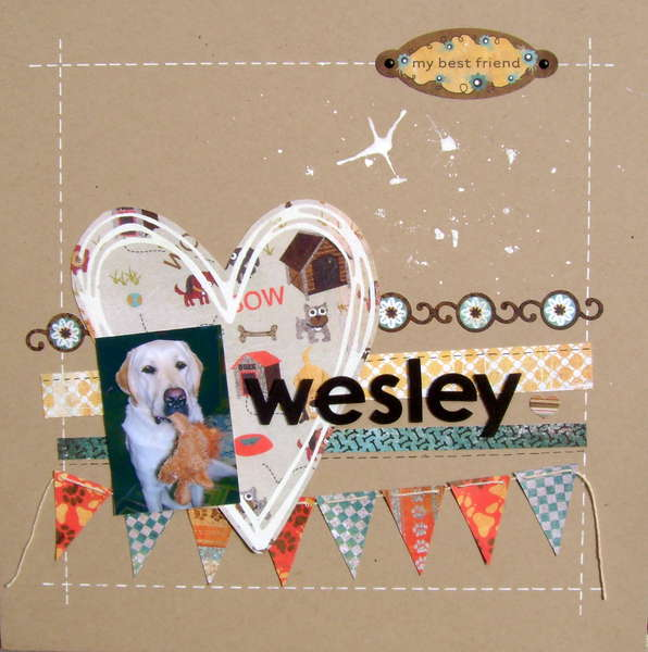 Wesley - my best friend