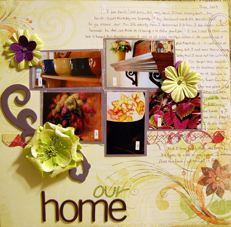 Our Home - My Favorite 5