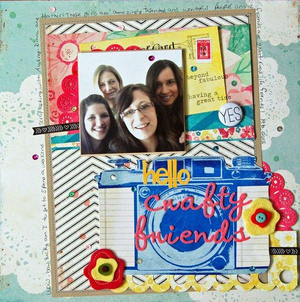 Hello Crafty Friends