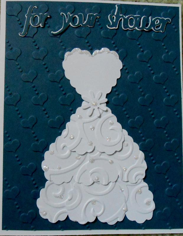 Bridal shower card...  I saw idea on Pinterest