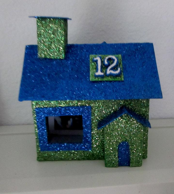 12th Man Glitter House... go Seahawks