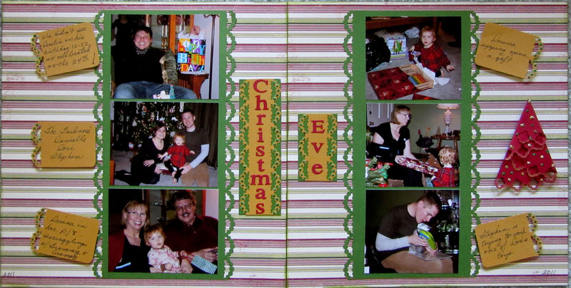 Christmas Eve (two pager) of 2012