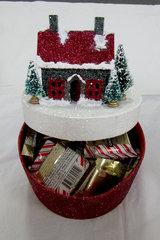 Glitter House as candy box