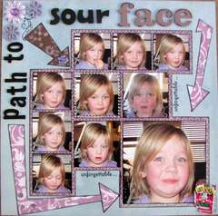 Path to Sour Face ~~TOO FUNNY~~