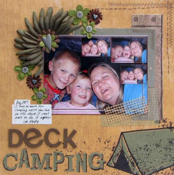 Deck Camping