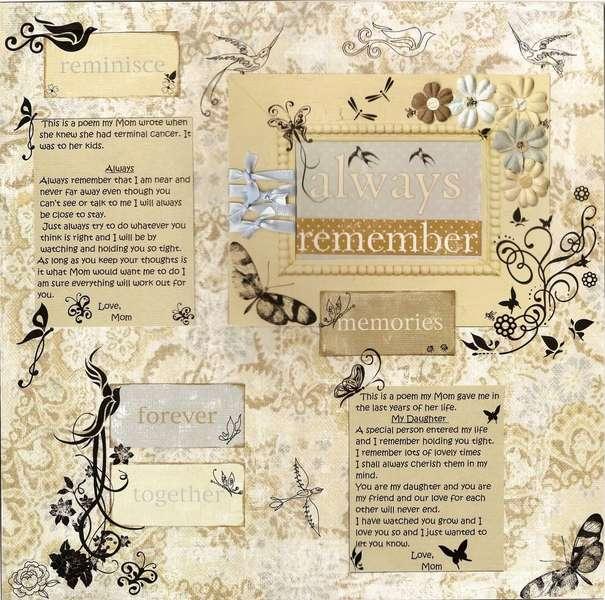 Always Remember Poems