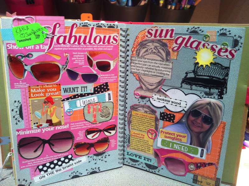 Smash Journal - Kaylas passion for sun glasses