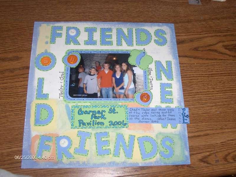 Old Friends, New Friends (Hidden Journaling)