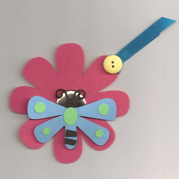 Summer Flower Tag