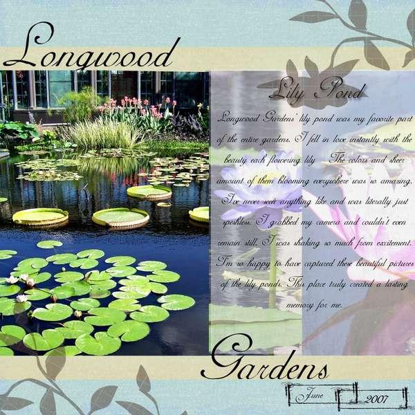 Longwood Gardens - Lily Pond