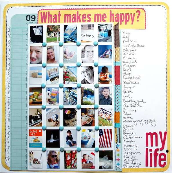 What makes me happy?
