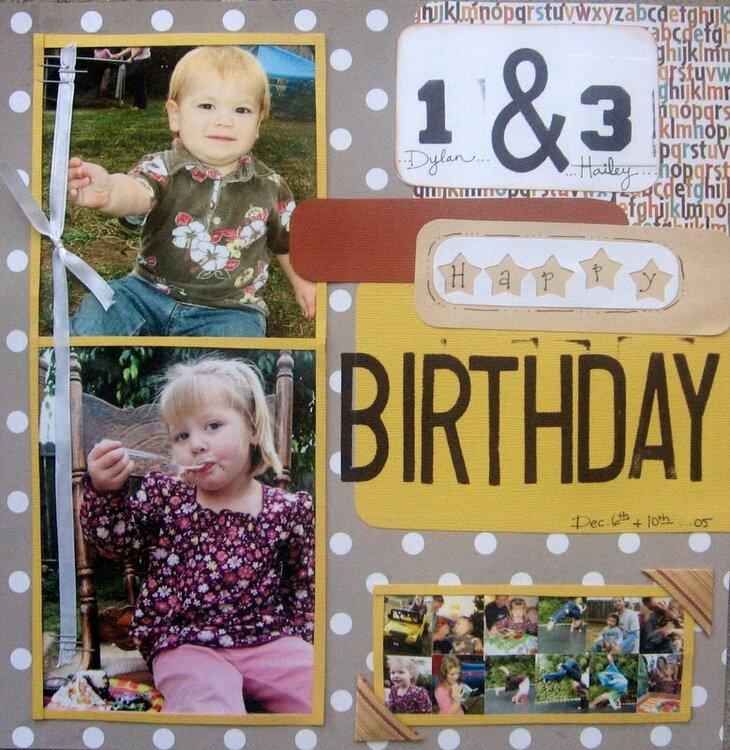 2 birthdays