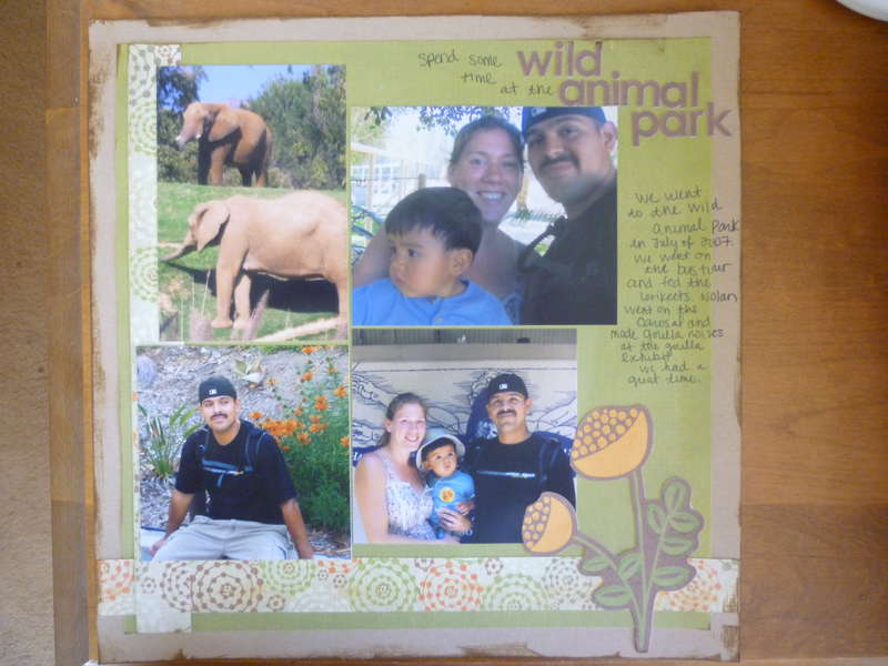 At the Wild Animal Park