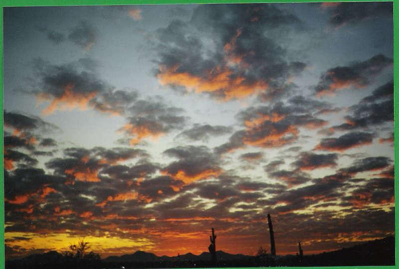 Last sunset of 1999