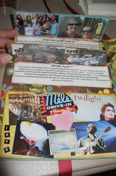 A Day In My Life, Circle Journal Page