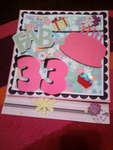 front of birthday card