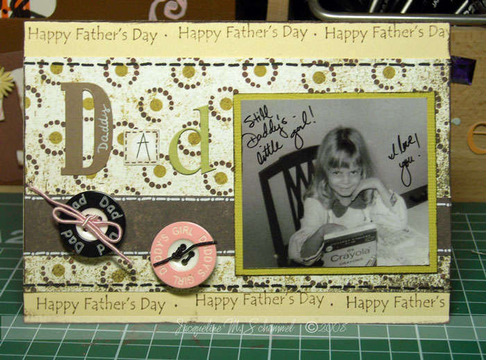 Father's Day card 2008