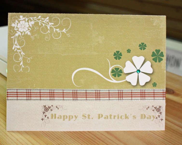 Hybrid St. Patrick's Day Card